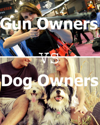 Gun owners vs dog owners