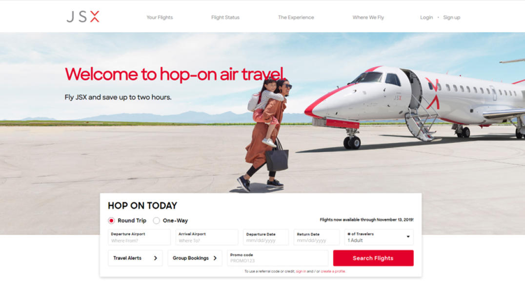 JSX the best airlines in the whole WORLD!
