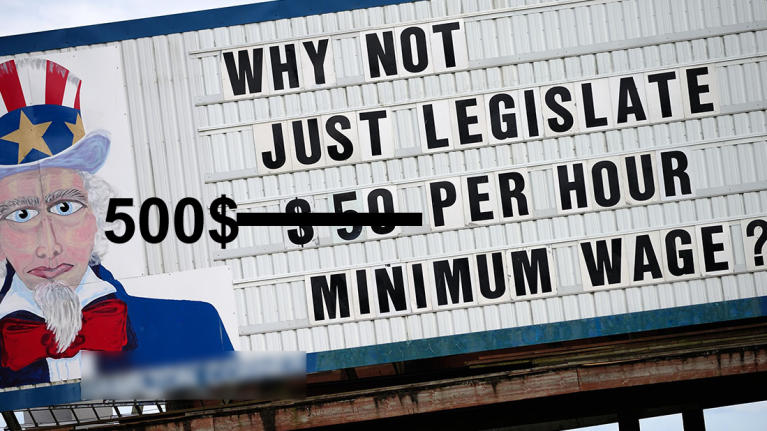 Strange case of minimum wage. No, not really